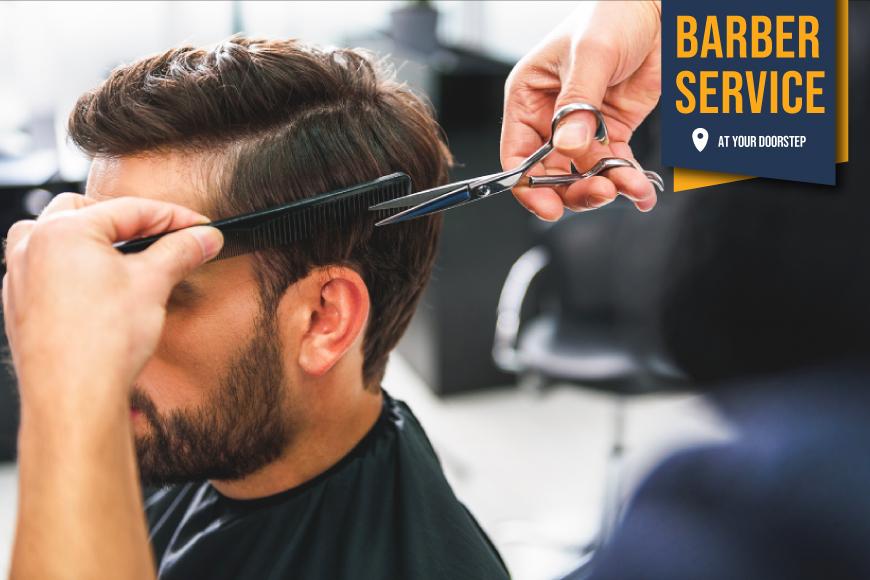 Barber Services in Karachi: Book Online at HukumJanab.pk